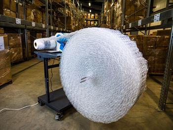 Obrázek Fólie pro výrobu vzduchové výplně - bublinky - 30x30x4cm