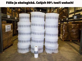 Obrázek z Fólie pro výrobu vzduchové výplně - bublinky - 30x40x4cm