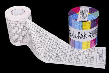 Obrázek Toaletní papír – Sudoku