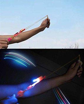 Obrázek z Vystřelovací vrtulky s LED osvětlením – balení 10ks