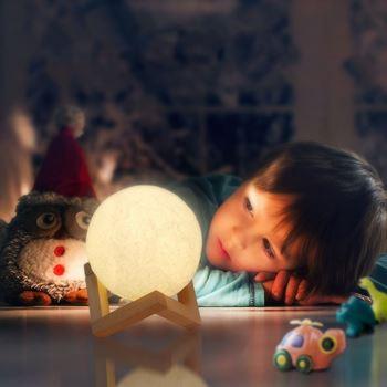 Obrázek Lampička - měsíc