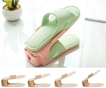 Obrázek Plastový organizér na boty - růžový