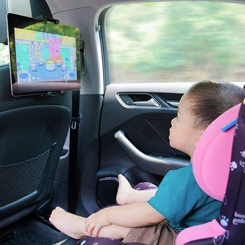 Obrázek Držák mobilu/tabletu na opěrku sedadla