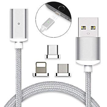 Obrázek USB kabel s vyměnitelnými koncovkami