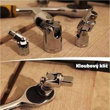 Obrázek Kloubový klíč 3 ks