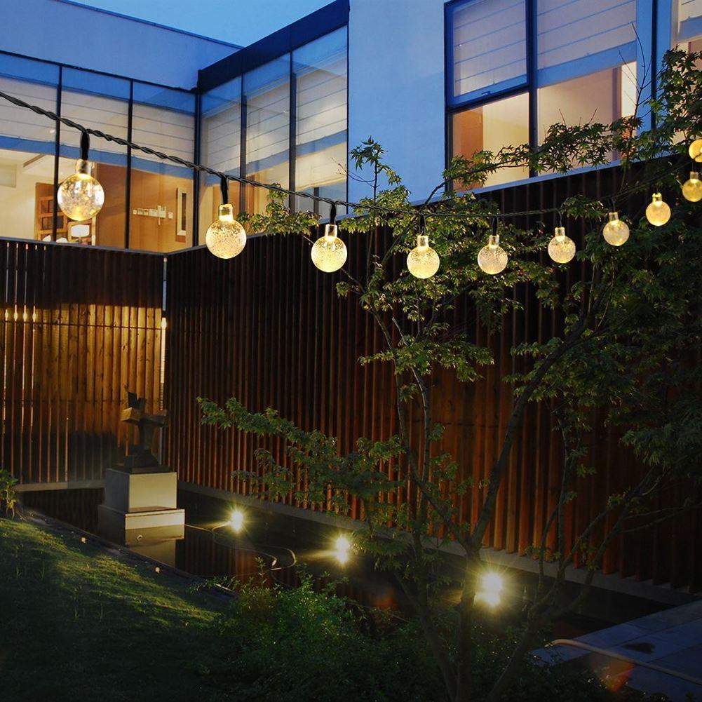 Dekorativní solární osvětlení