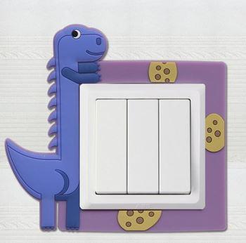 Obrázek Dekorace na vypínač - dinosaur