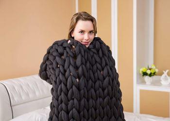 Obrázek Příze pro ruční pletení - černá