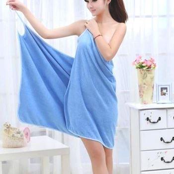 Obrázek Ručníkové šaty - modré