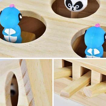 Obrázek Dřevěná hračka pro kočky