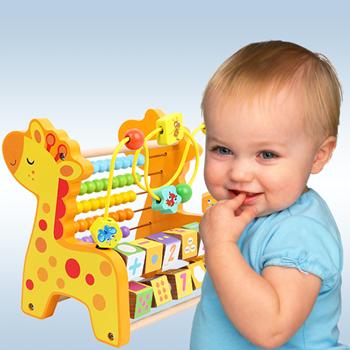 Obrázek Dřevěné počítadlo pro děti