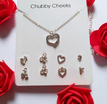 Obrázek Sada šperků - srdce