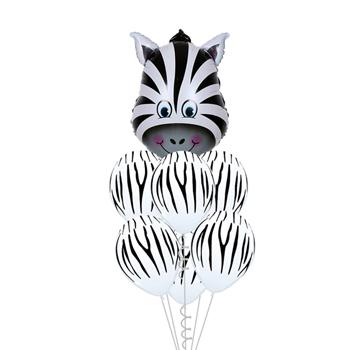 Obrázek Veselé balónky - zebra