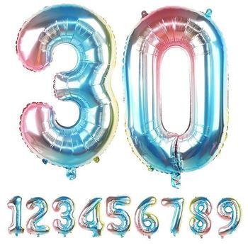 Obrázek Nafukovací balónky čísla - 0