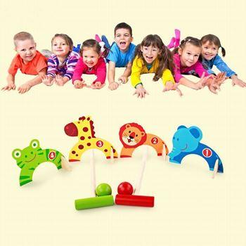 Obrázek Dětská dřevěná hra - kroket