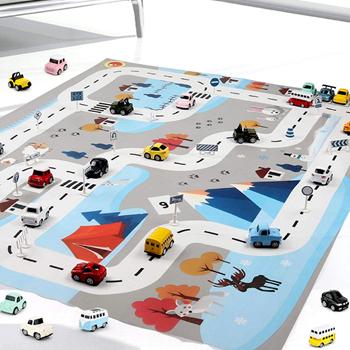 Obrázek Hrací podložka autíčka - barevná