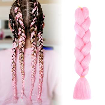 Obrázek Vlasový příčesek - růžový