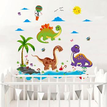 Obrázek Samolepky na zeď - Dinosauři