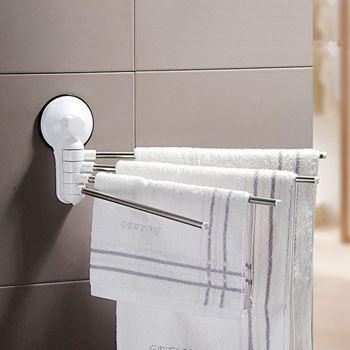 Obrázek Věšák do koupelny - bílý