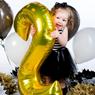 Obrázek z Nafukovací balónky čísla maxi - zlaté 0
