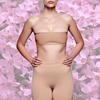 Obrázek Push - up páska na prsa - béžová