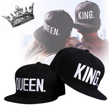 Obrázek Párová čepice King and Queen