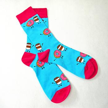 Obrázek Barevné ponožky - sladkosti