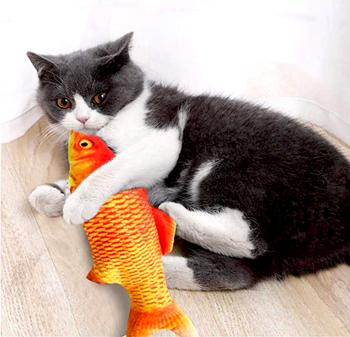 Obrázek Hračka pro kočky - ryba