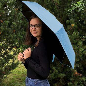 Obrázek z Skládací deštník - modrý