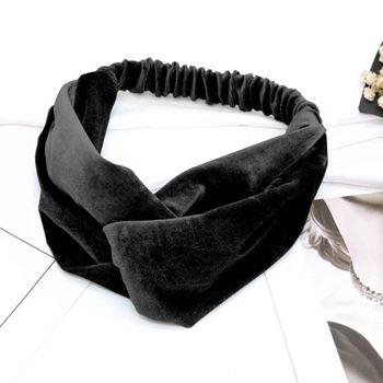 Obrázek Elastická čelenka - černá