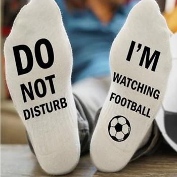 Obrázek Ponožky - Nerušit, dávají fotbal