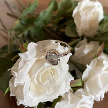 Obrázek Prstýnek s růžičkou - Miluji Tě 100x jinak