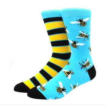Obrázek Veselé ponožky - včela