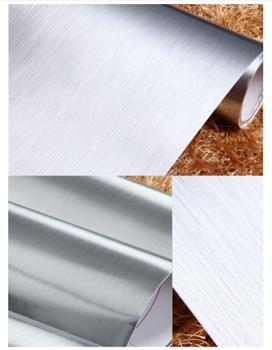 Obrázek Samolepící stříbrná tapeta