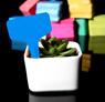 Obrázek z Štítky k rostlinám - modrá