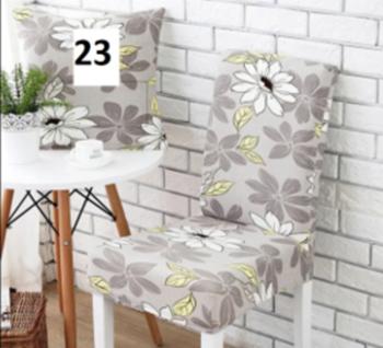 Obrázek Elastický potah na židli - šedý