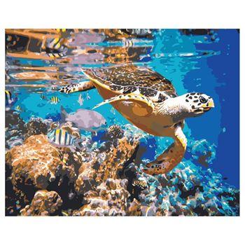 Obrázek Malování podle čísel - podmořský svět