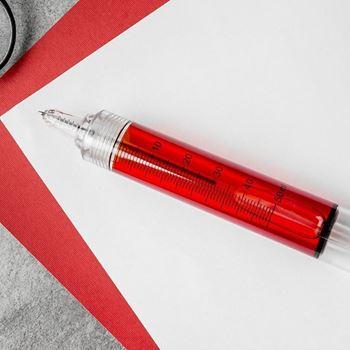 Obrázek Stříkačková propiska - červenomodrá
