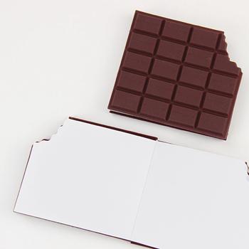 Obrázek Poznámkový blok ukousnutá čokoláda