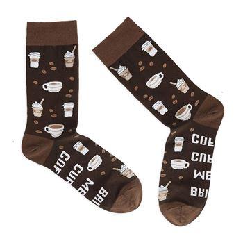 Obrázek Ponožky - Přines mi kávu