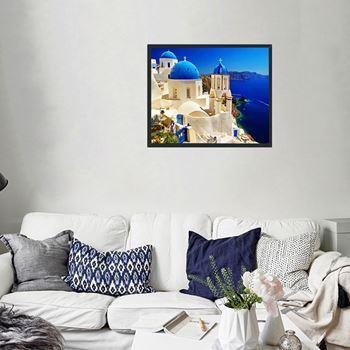 Obrázek Diamantové malování - Santorini