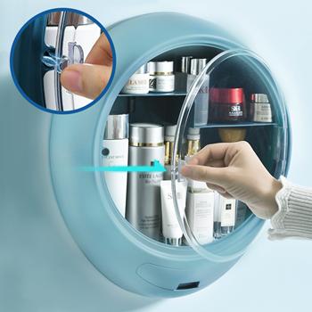 Obrázek Nalepovací kosmetický organizér - modrý