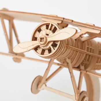 Obrázek Dřevěné 3D puzzle
