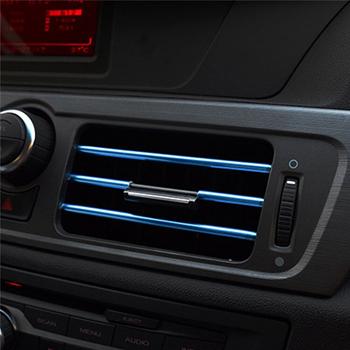 Obrázek Dekorační lišty na ventilační mřížku auta - modrá
