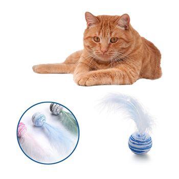 Obrázek Míček pro kočky - peříčko