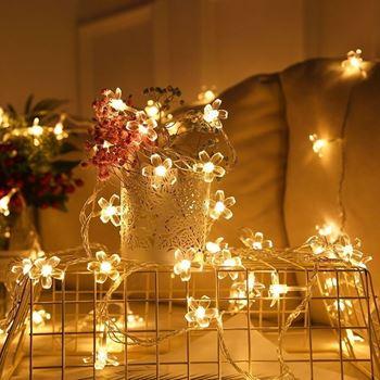Obrázek LED světelný řetěz - třešňový květ
