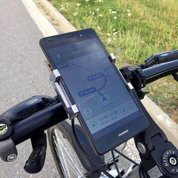 Obrázek Otočný držák mobilu na kolo