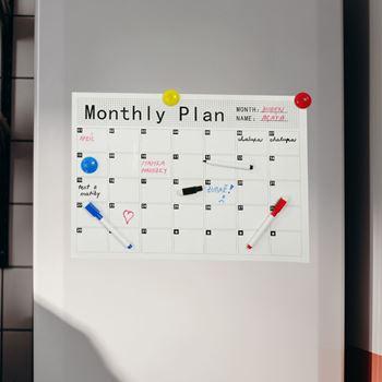 Obrázek z Magnetický kalendář na lednici