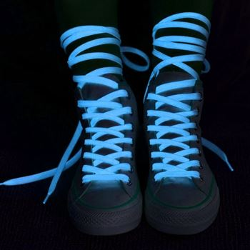 Obrázek Svítící tkaničky - modré