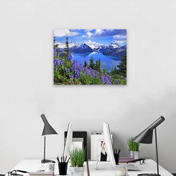 Obrázek Diamantové malování - jezero Garibaldi